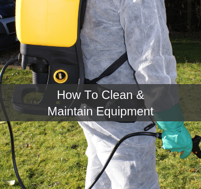 How To Clean & Maintain Equipment