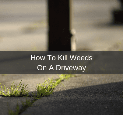 How To Kill Weeds On A Driveway