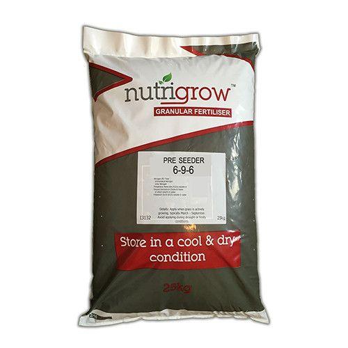 6-9-6 Nutrigrow Pre-Seeder Fertiliser 10kg