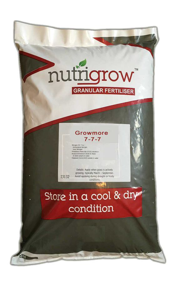 7-7-7 Nutrigrow Growmore Fertiliser 10kg
