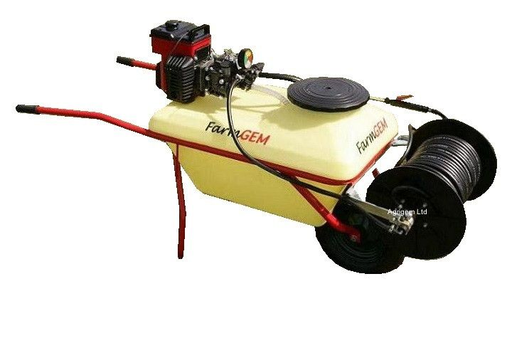 80L Walk Behind Pesticide Chemical Sprayer Ideal For Rough Terrain
