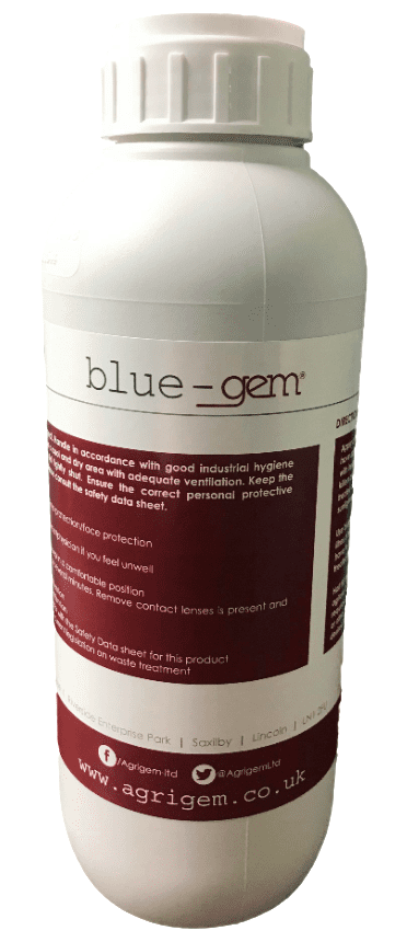Blue-gem Dye Chemical Spray Indicator