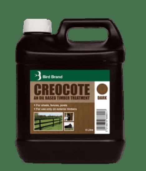 Dark Brown 4L Bartoline Creocote Timber Treatment