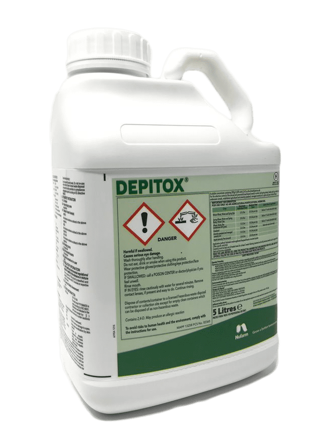 Depitox 5L Selective Weed Control For Paddocks & Amenity Turf