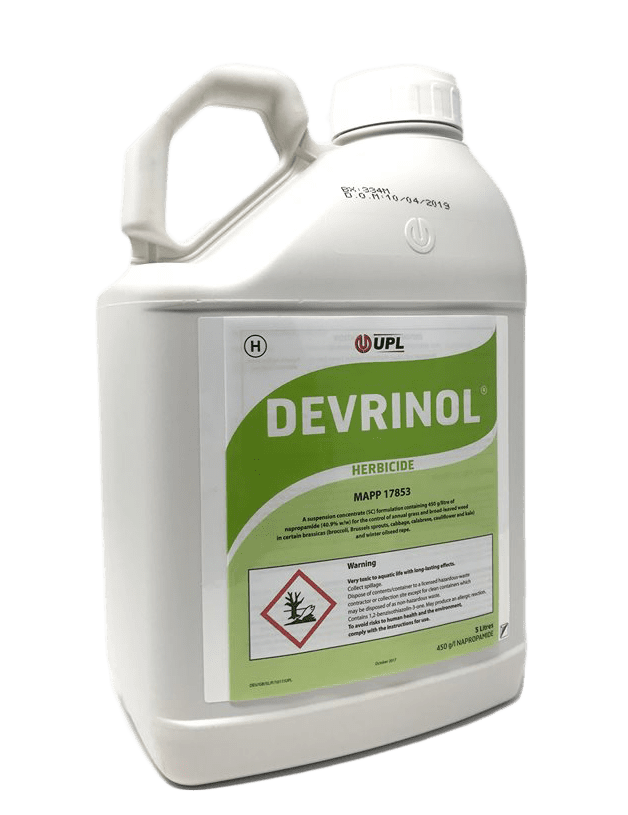 Devrinol 5L Residual Herbicide For Ornamental Plant & Tree Production & Forestry