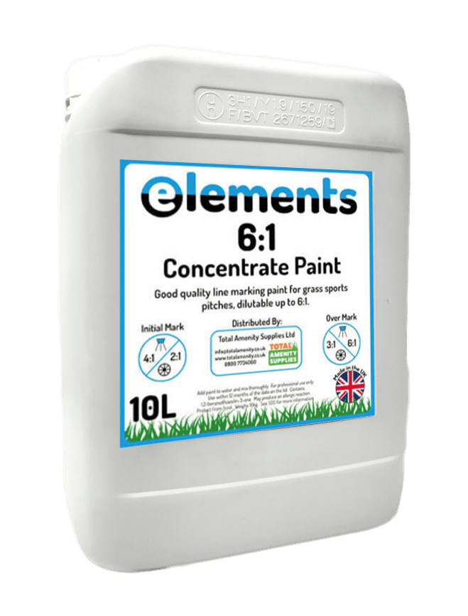 Elements 6:1 Concentrated Paint 10L White
