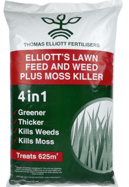 Elliots Weed Feed & Moss Killer 20kg