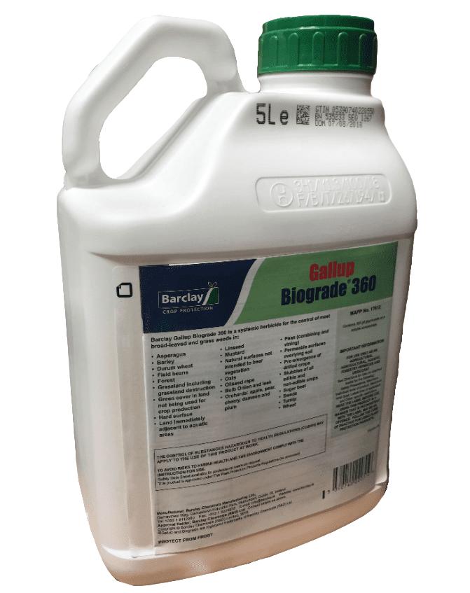 Gallup Biograde total herbicide 360 glyphosate