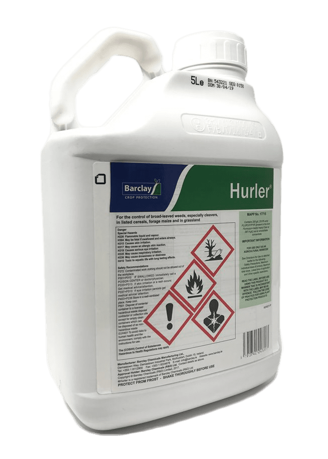 Hurler 5L | Young Grass New Leys Weed Control