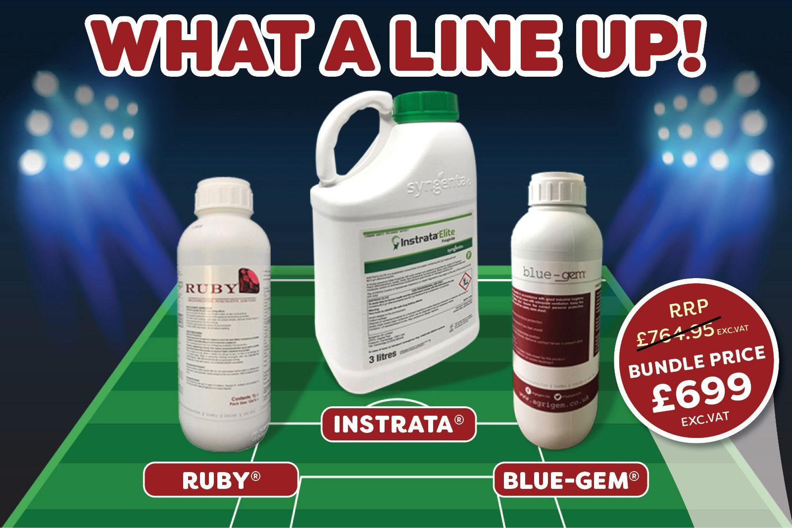 Instrata Elite 3L + Ruby Enhancer + Blue Gem