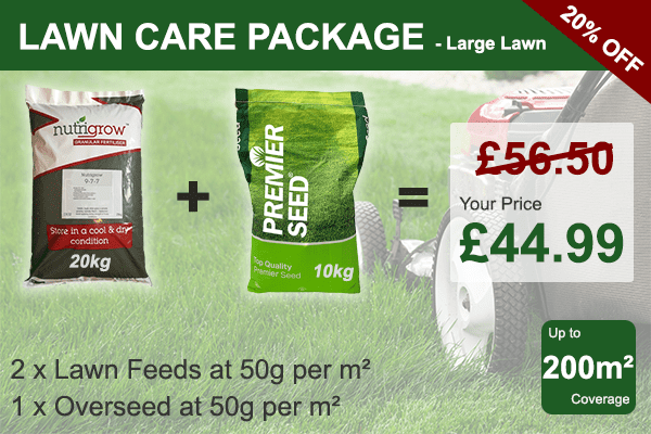 Lawn Care Package - Large Lawn