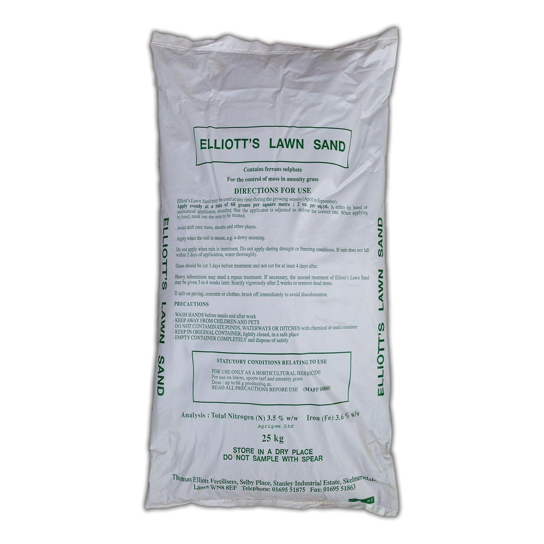 Lawn Sand 3.5N + 3.6Fe 25kg Nitrogen Based Moss Killer
