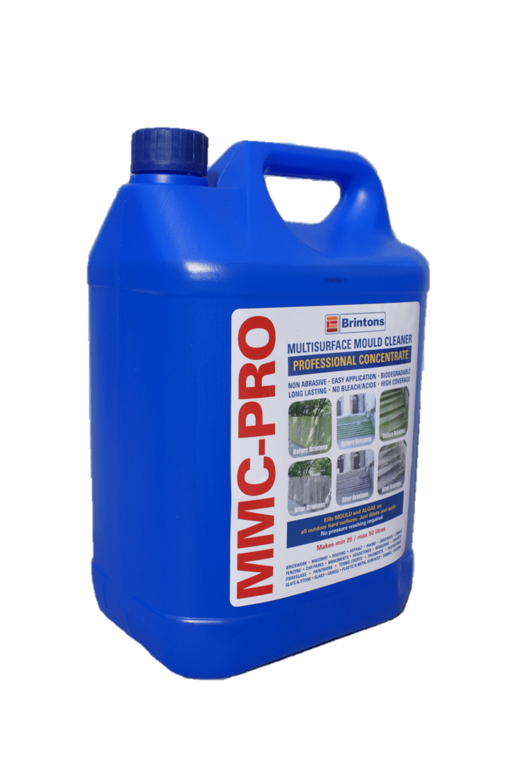 MMC Pro Moss Killer 5L | Hard Surface Cleaner & Moss Killer