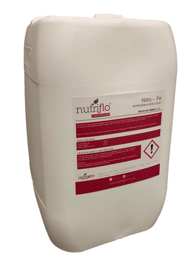 NutriFlo Nitro-Fe 20-0-0-6Fe 20L