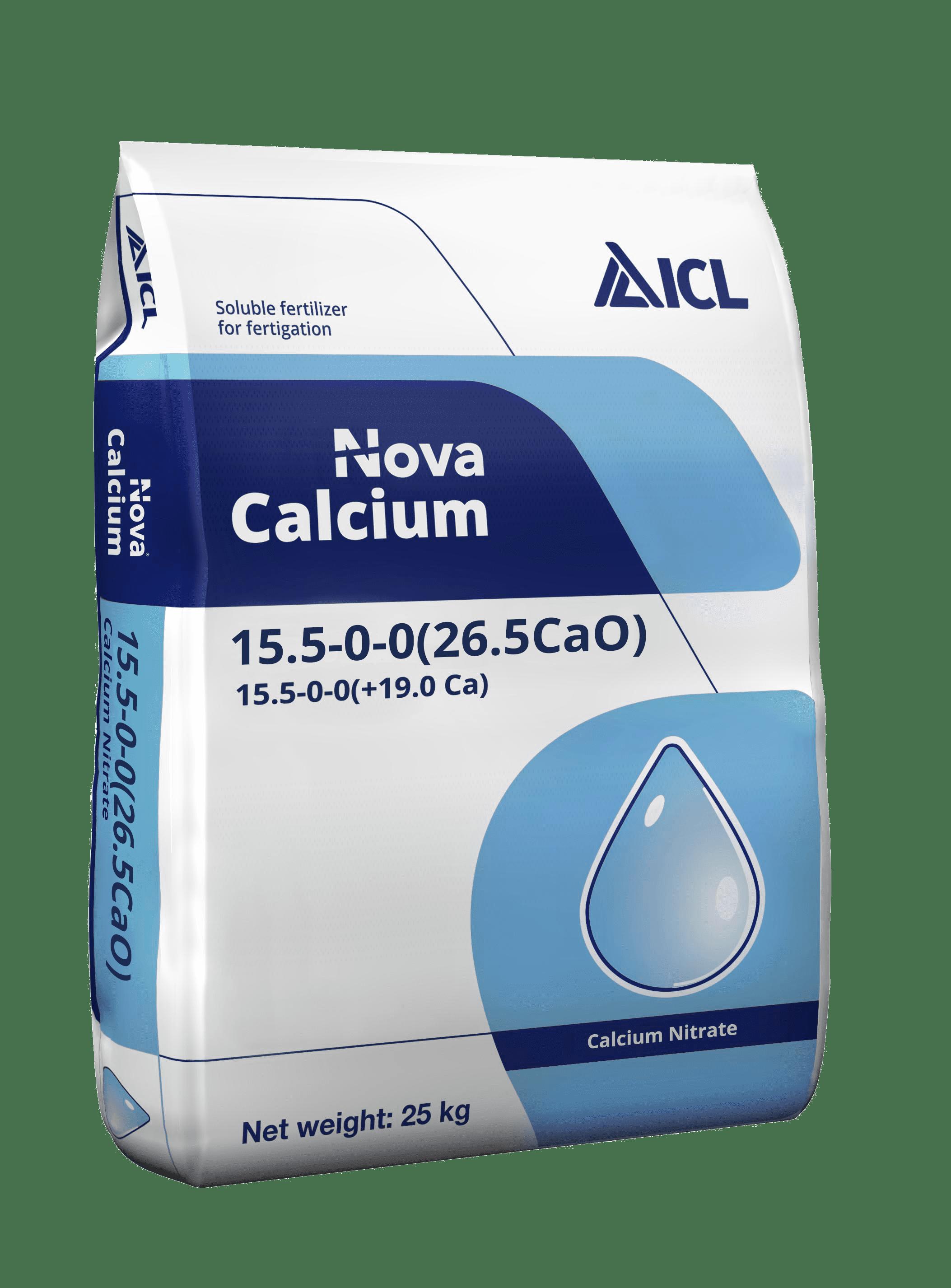 ICL Nova Calcium Nitrate 15.5-0-0+26.5CaO