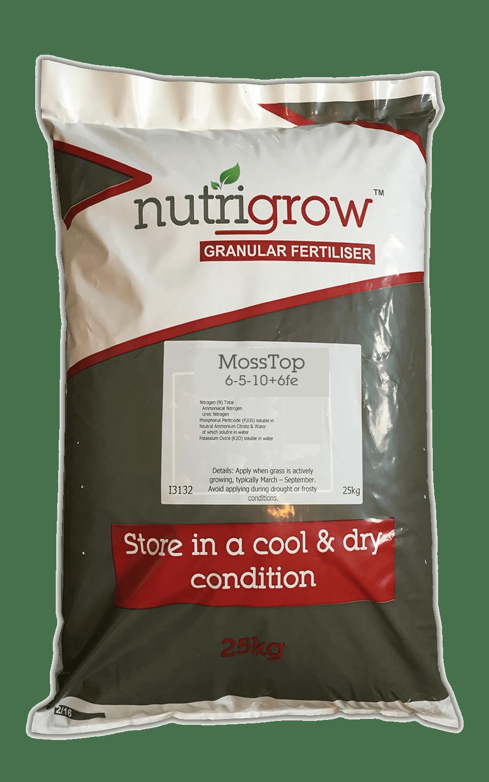 6-5-10+Fe Nutrigrow MossTop 10kg