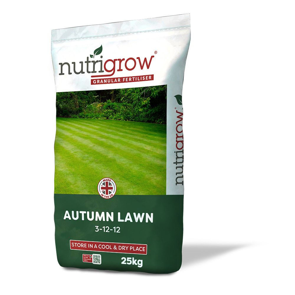 Nutrigrow Autumn Lawn Fertiliser 3-12-12 - 25kg