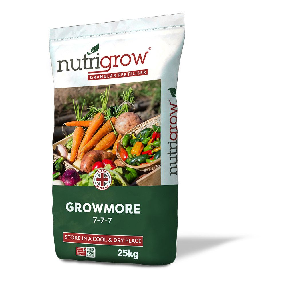 7-7-7 Nutrigrow Growmore Fertiliser 25kg