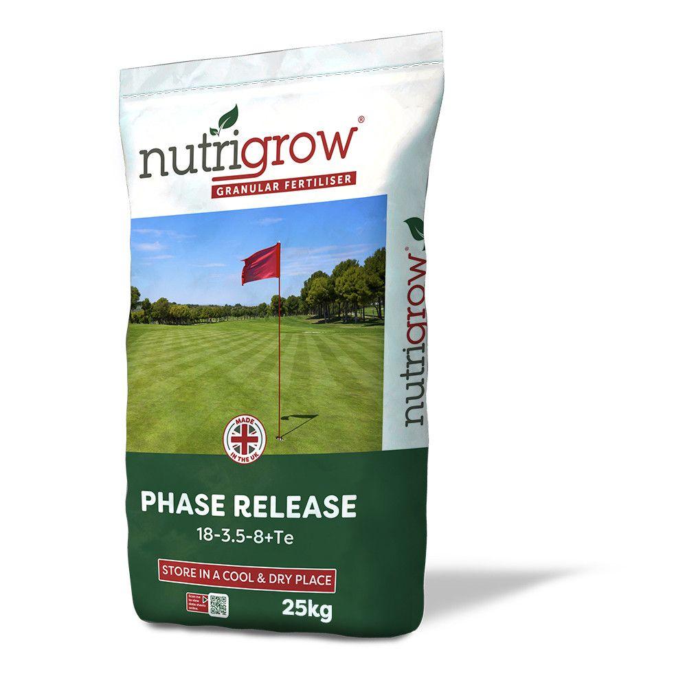 Nutrigrow 18-3.5-8+TE Phased Release Fertiliser 25kg
