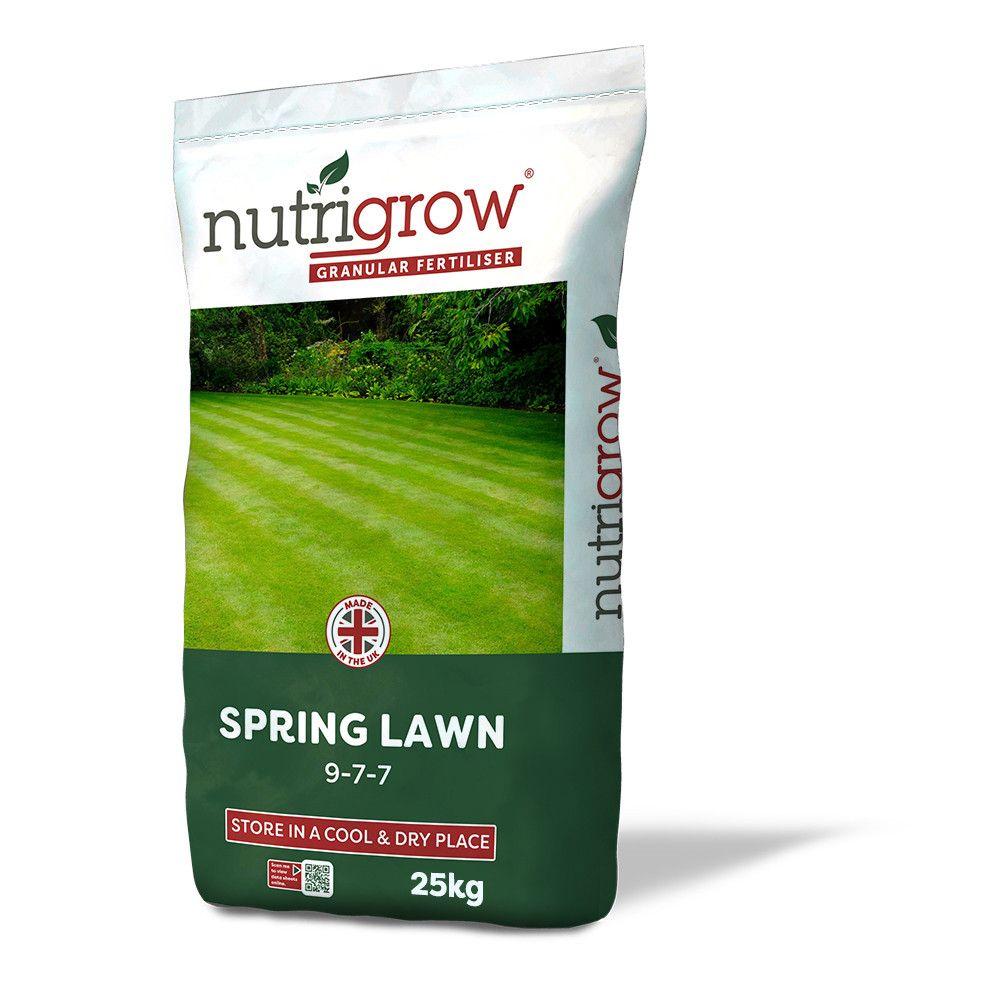9-7-7 Nutrigrow Spring Lawn Fertiliser 25kg