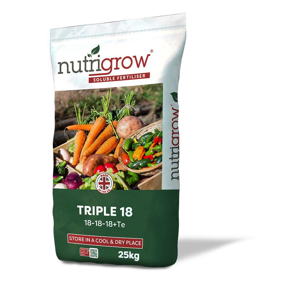Nutrigrow Soluble Triple 18 25kg