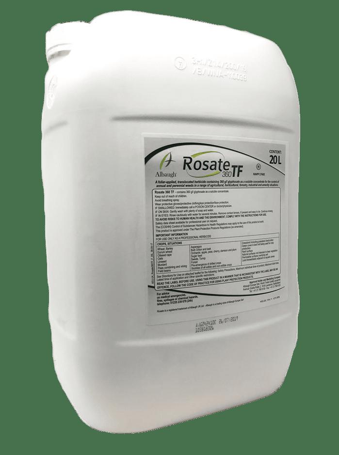 Rosate360 TF 20L   Foliar Applied Total Herbicide