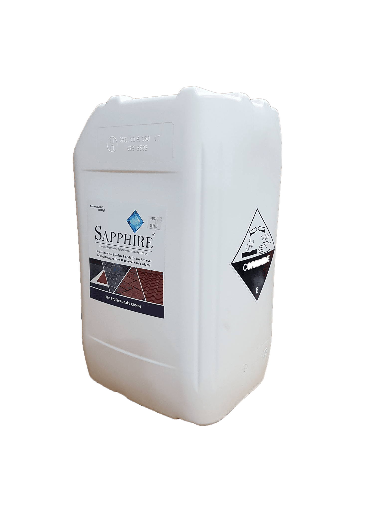 Sapphire Hard Surface Cleaner 20L