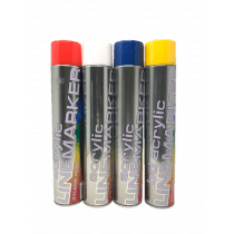 Acrylic Line Marker 750ml-Multiple Colours