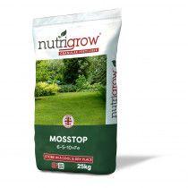6-5-10+Fe Nutrigrow MossTop 25kg High Iron Fertilise Moss Control