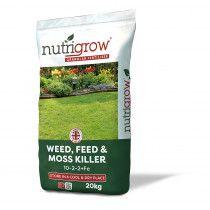 Nutrigrow Feed, Weed & Moss Killer 20kg