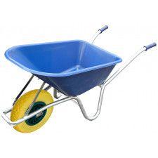 100L Blue Wheelbarrow