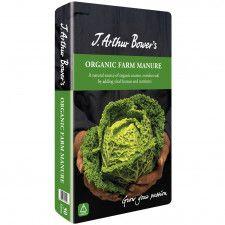 J Arthur Bowers Organic Farm Manure 50L