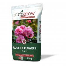 Nutrigrow Rose Fertiliser 5-5-10+Mg 25kg