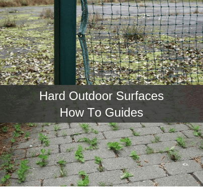 Hard Outdoor Surfaces How To Guides