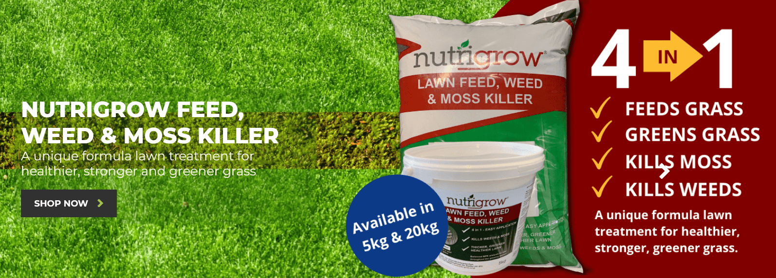 Introducing Nutrigrow Feed Weed & Moss Killer